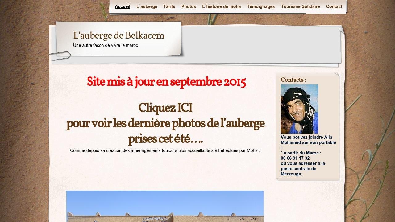 Auberge de Belkacem - Maroc.