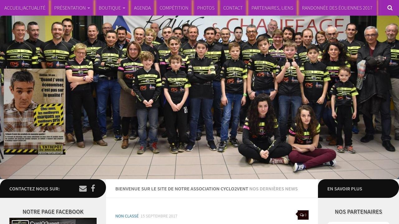 Cyclo2vent, association de VTT à Saint-Seine-L'abbaye