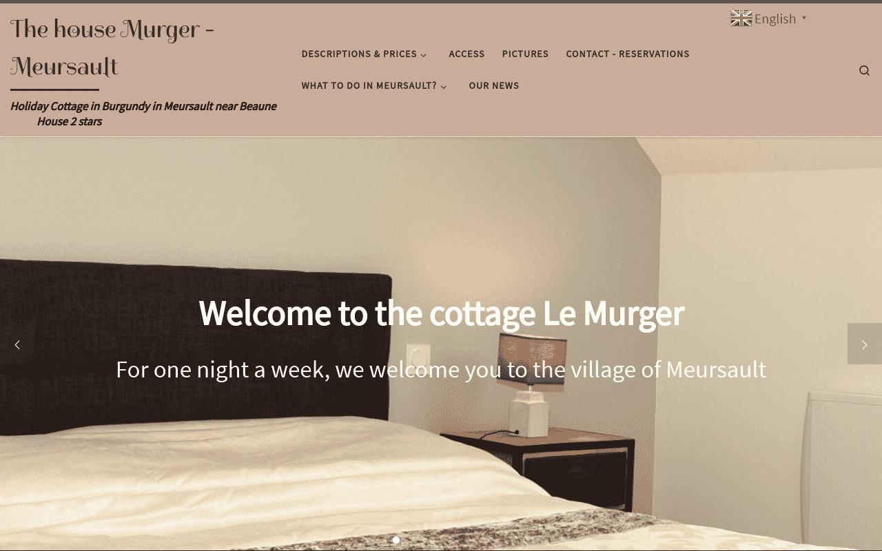 Murger the house - Cottage in Meursault - Gite in Burgundy